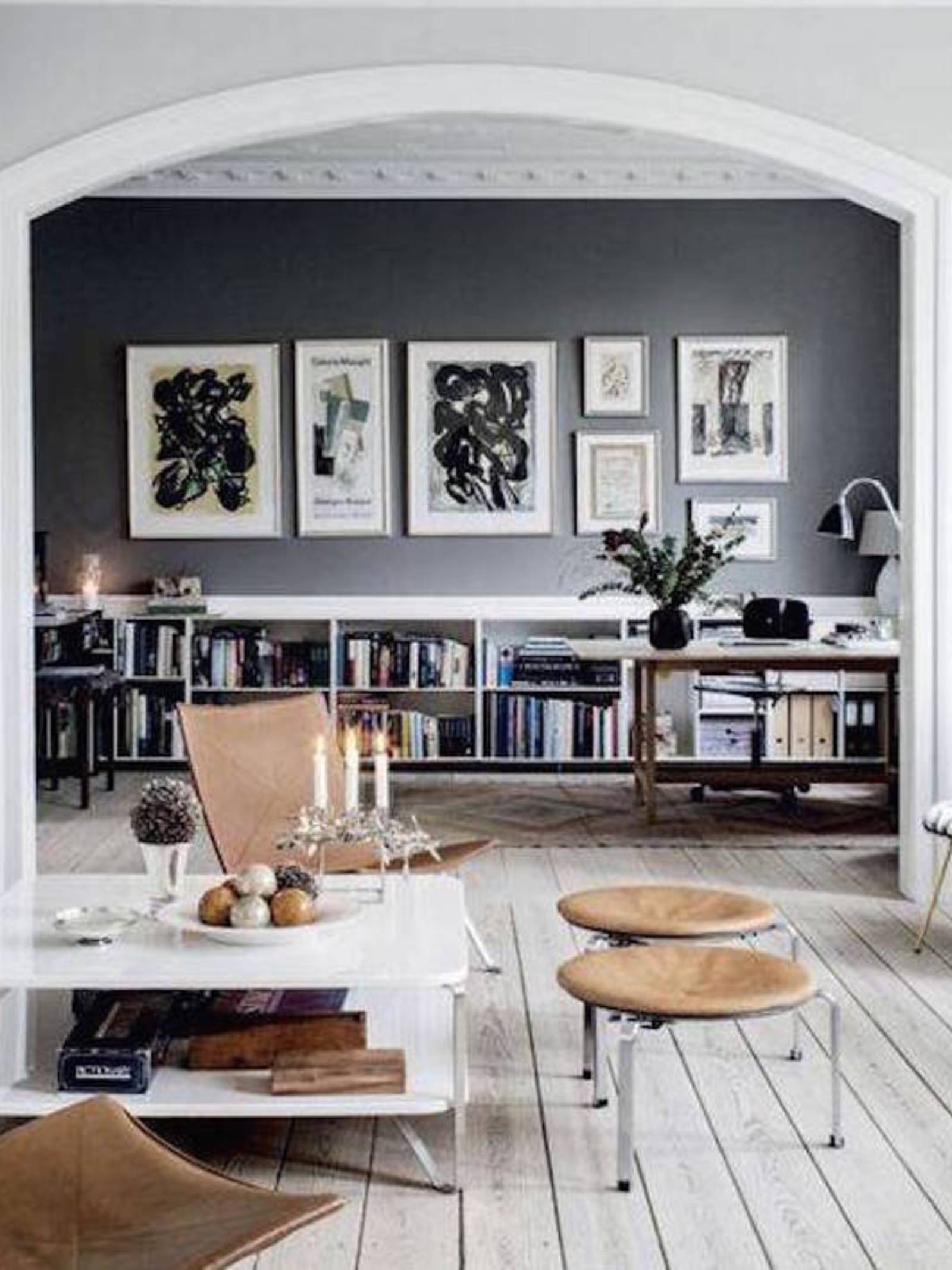 15 Black Feature Walls To Make You Rethink All Your Decor Decisions Part 58