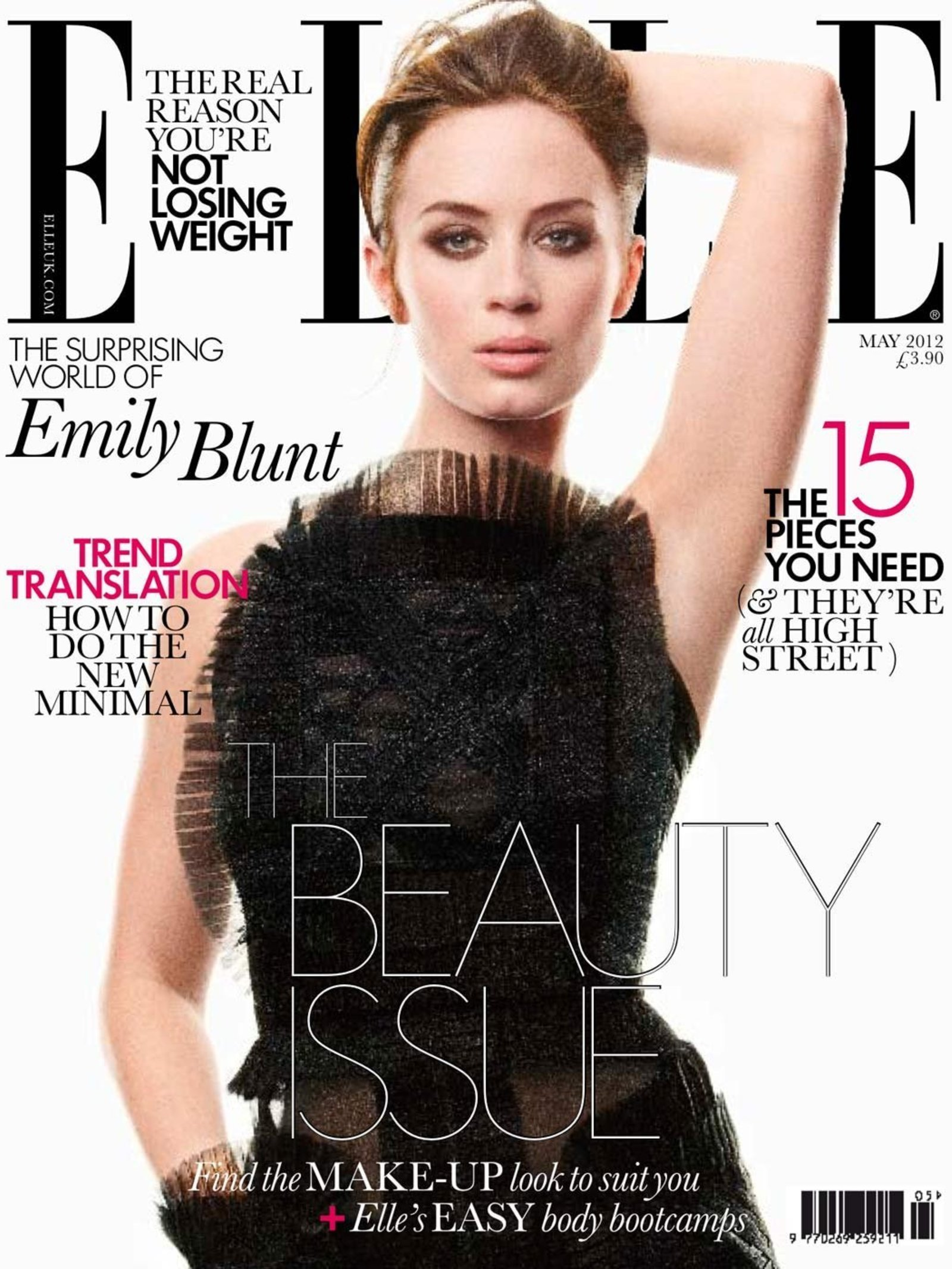Elle Horoscopes Behind The Cover Emily Blunt