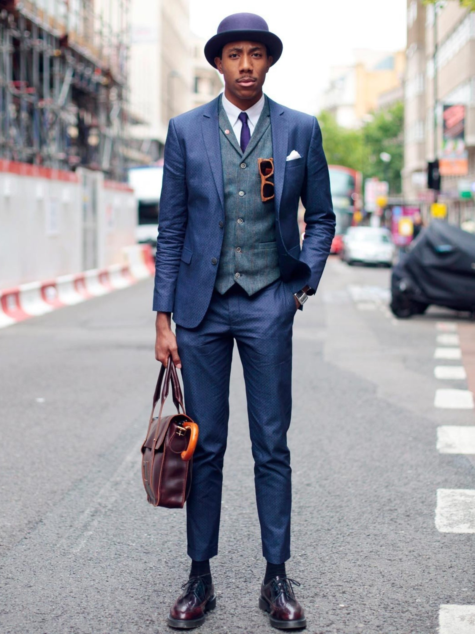 London Collections: Men SS14 Street Style