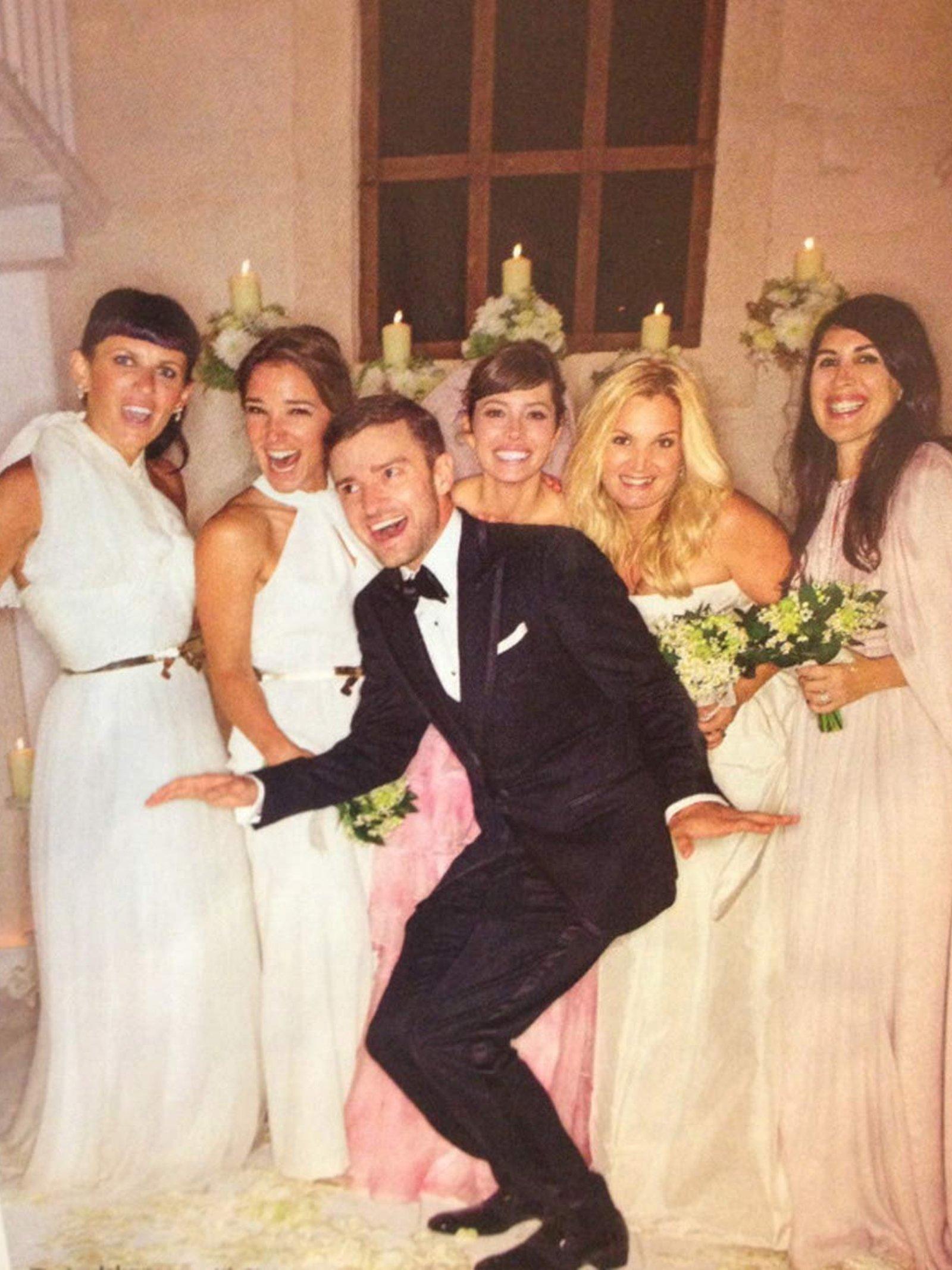 Jessica biel wedding dress pictures