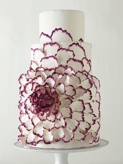 Wedding cake modern  Ultra Modern Wedding Cake Ideas   Lifestyle Wedding
