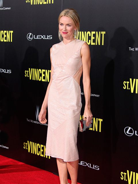 Naomi wears Jason Wu to the St. Vincent film premiere in New York, October