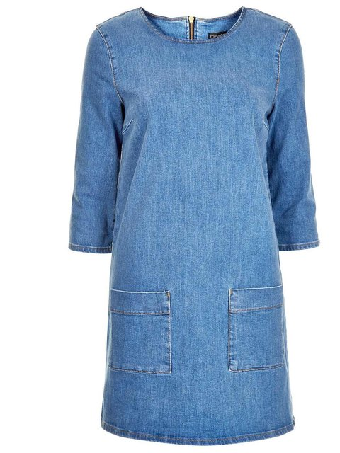 Джинсовое Платье Туника