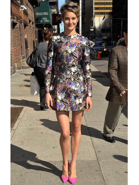 Shailene Woodley 39 S Style File
