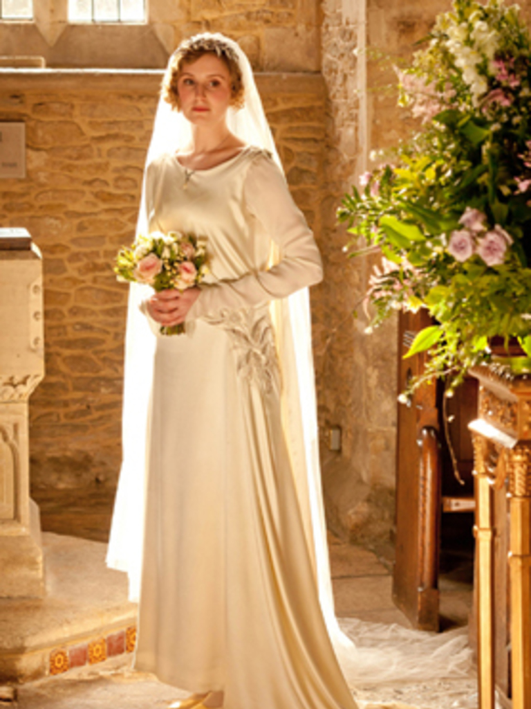 Mary Downton Abbey Wedding Dress