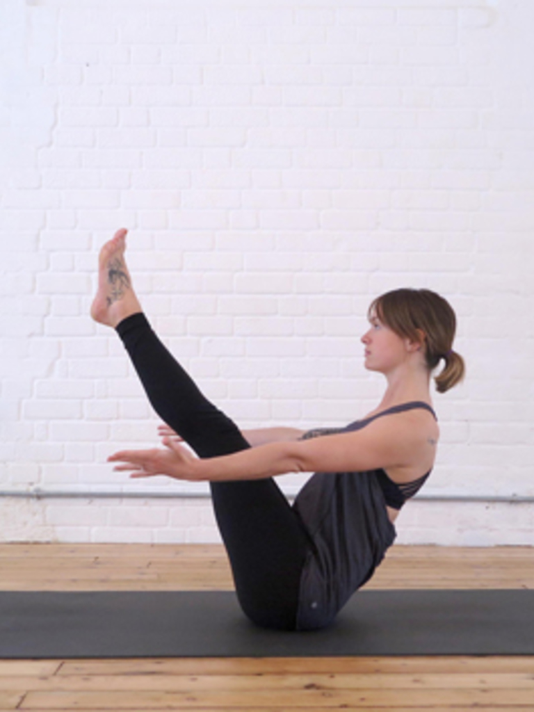 Yoga Poses To Tone Your Tummy Images In One Person