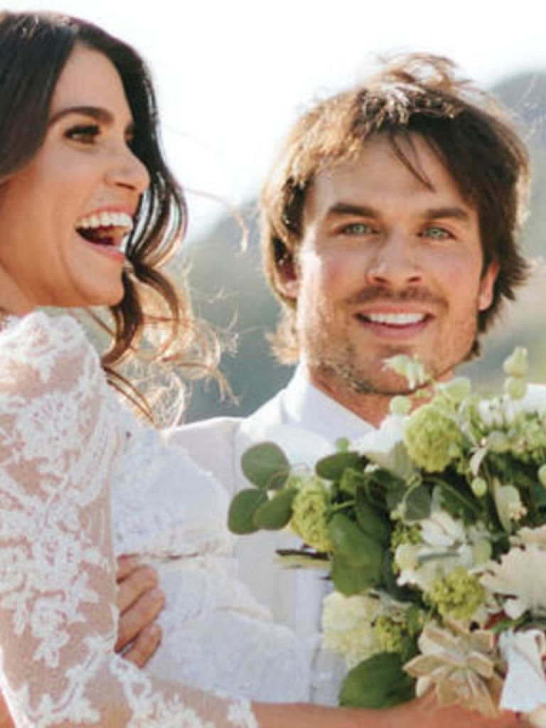 Httpcosmopolitanfashioncelebritynewsa38297nikki nikki reed has shared pictures of her wedding dress and its beautiful junglespirit Choice Image