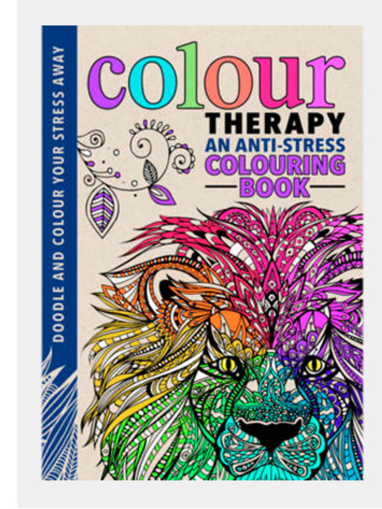 Color Therapy An Anti Stress Coloring Book By Cindy Wilde Laura Kate Chapman Richard Merritt Michael OMara Books Ltd