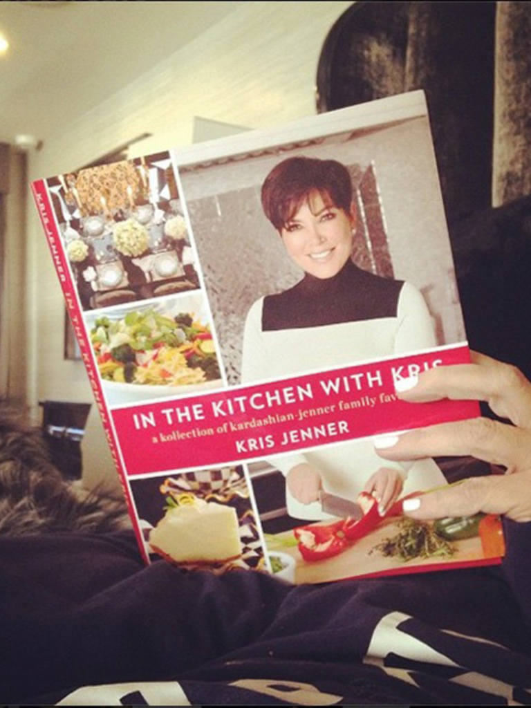 in the kitchen with kris jenner