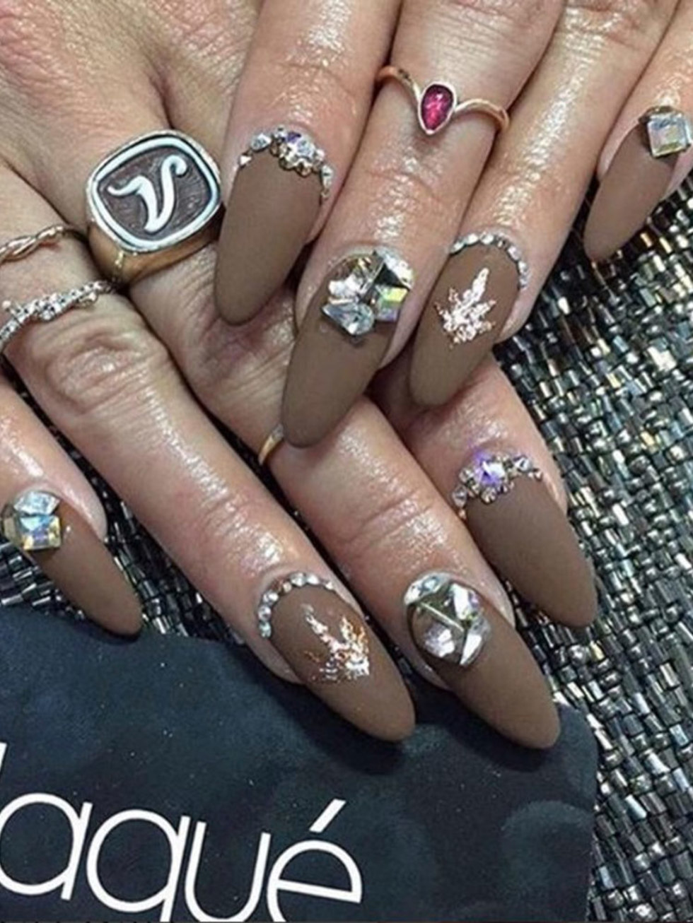 Nail art designs the best celebrity nail art for all your nail art designs the best celebrity nail art for all your manicure inspiration prinsesfo Image collections