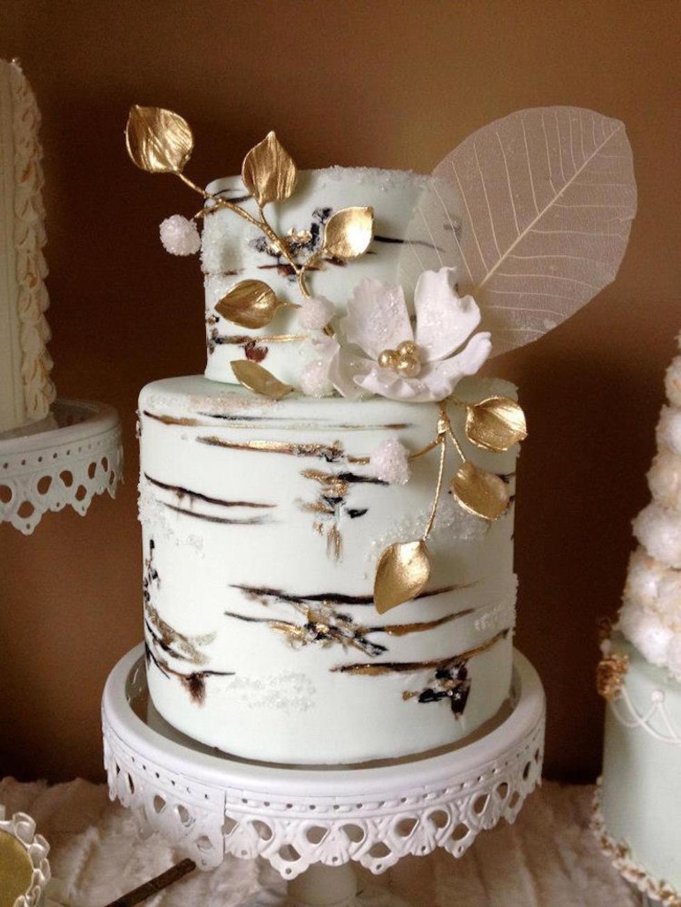 Ultra modern wedding cake ideas lifestyle wedding junglespirit