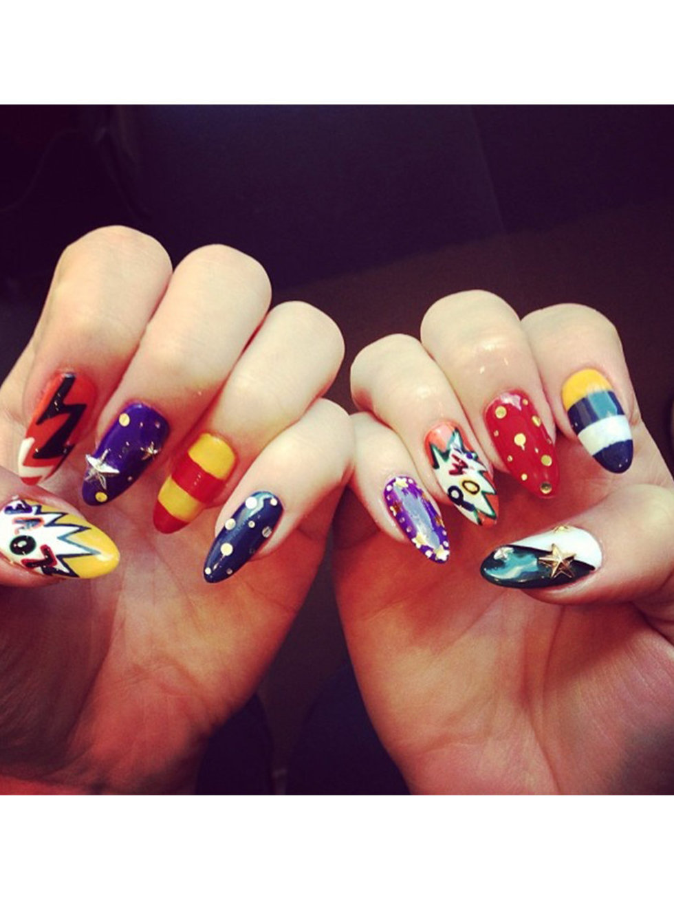 Nail art designs the best celebrity nail art for all your nail art designs the best celebrity nail art for all your manicure inspiration prinsesfo Gallery