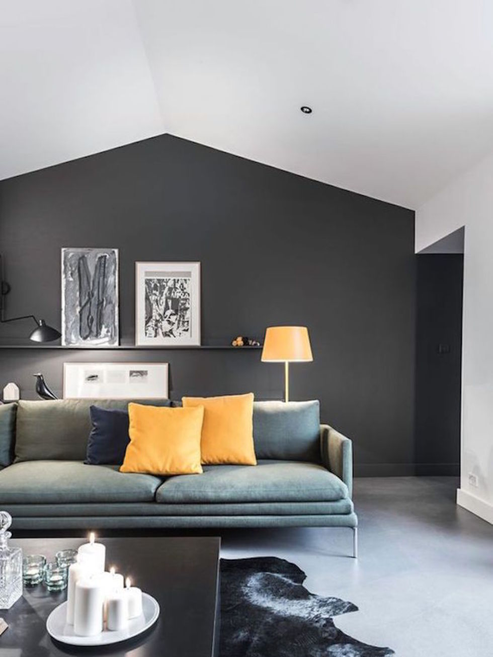 15 Black Feature Walls To Make You Rethink All Your Decor Decisions Part 9