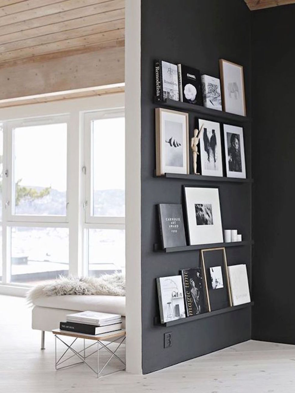 15 Black Feature Walls To Make You Rethink All Your Decor Decisions Part 47