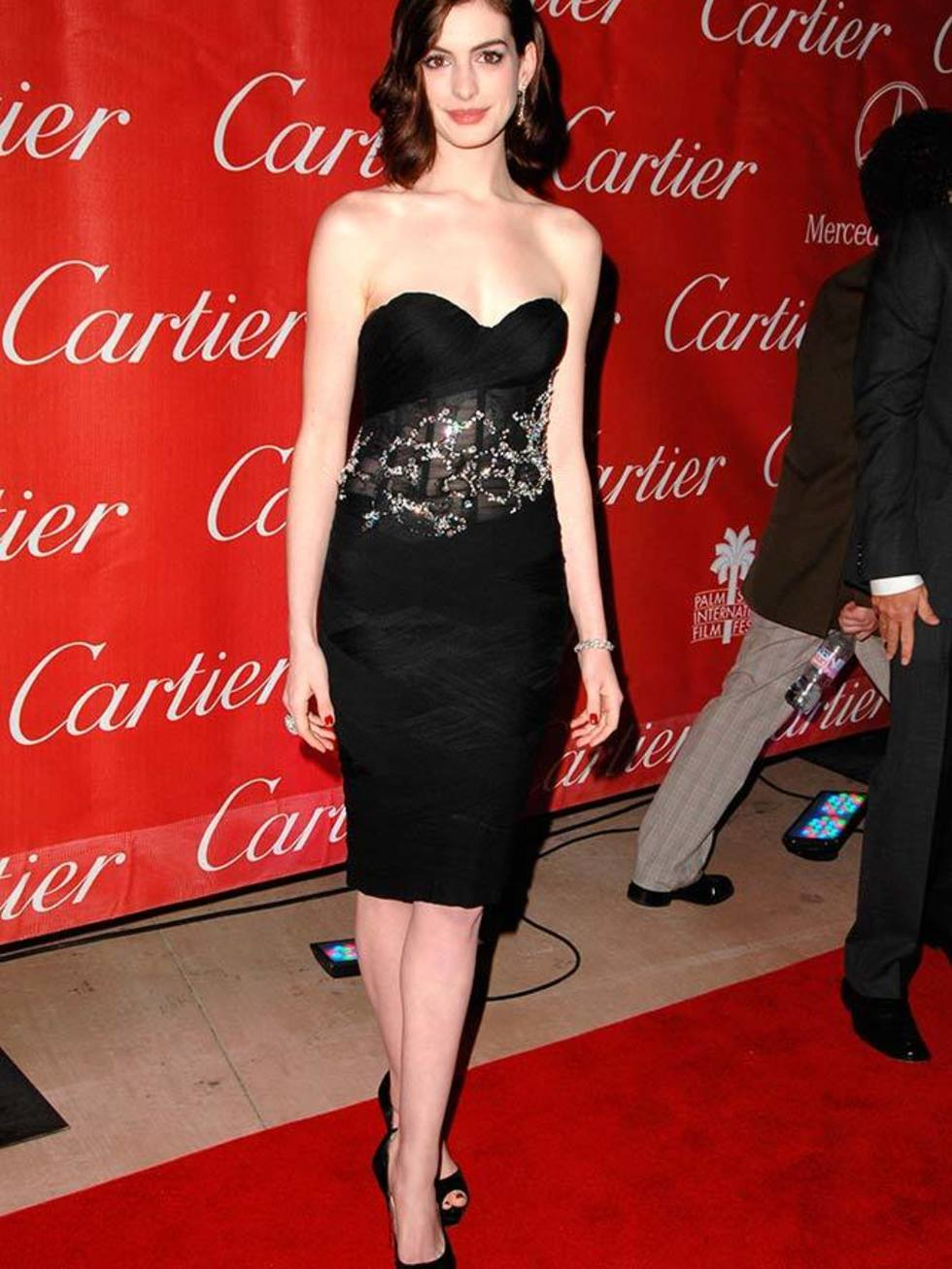 Anne Hathaway's style file