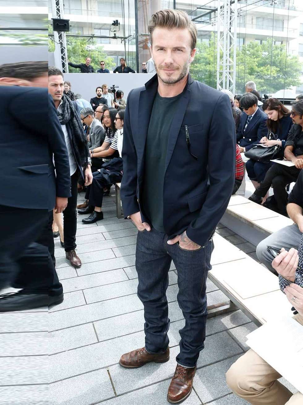 David Beckham Dressing Style 2013 Images Galleries With A Bite