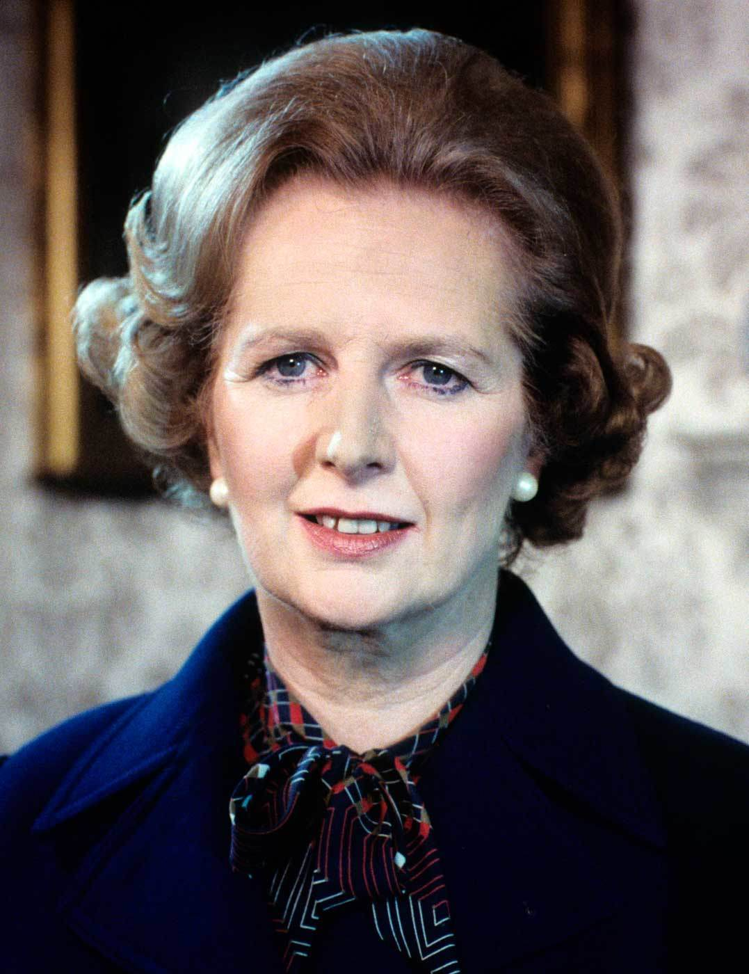 Margaret Thatcher And That Iconic Hairstyle Elle Uk