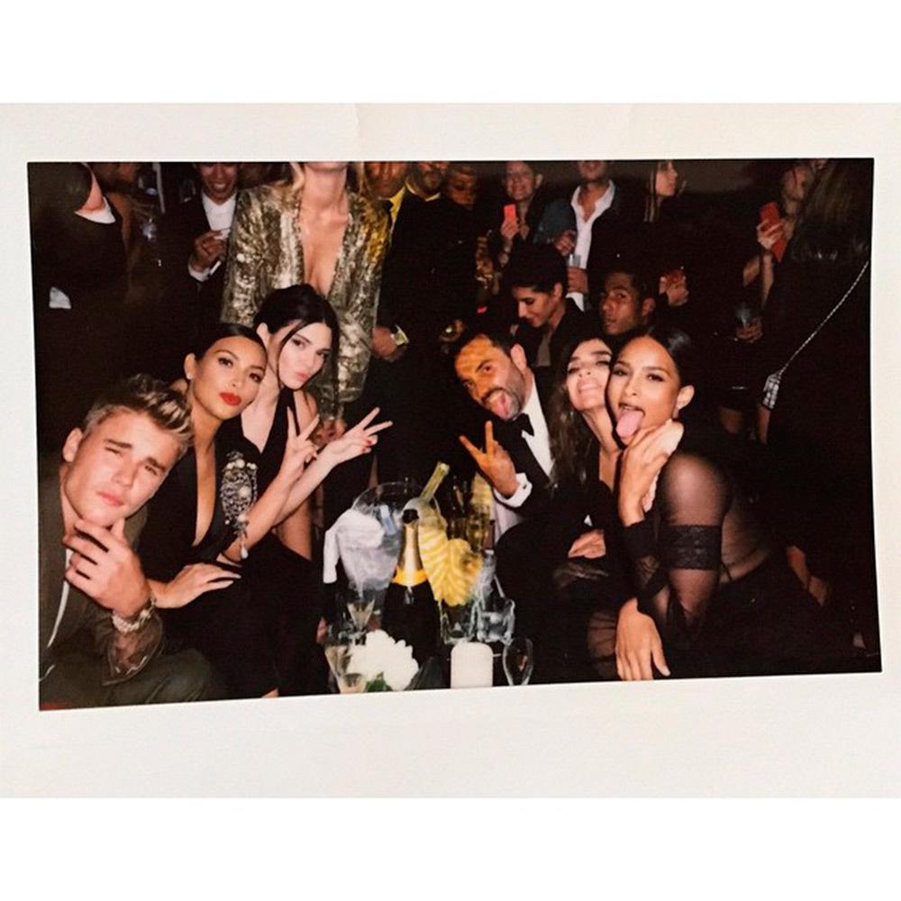 Pfw S S 2015 Celebrity Instagram