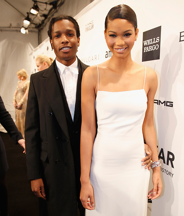 chanel iman and aap rocky engaged