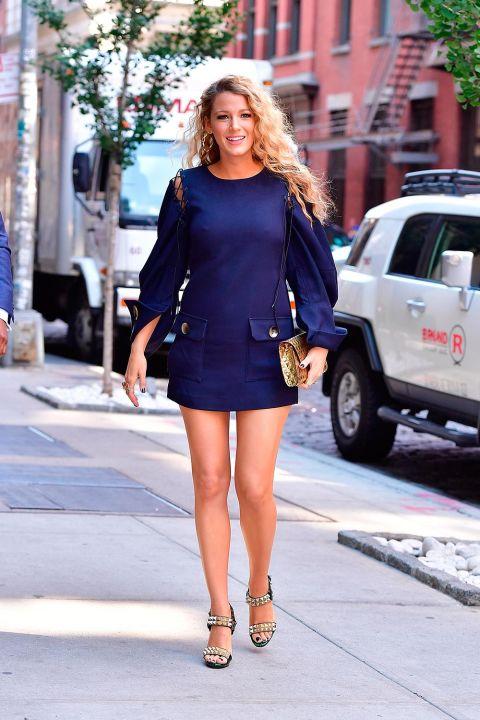 Blake Lively Style File Fashion Celebrity Style