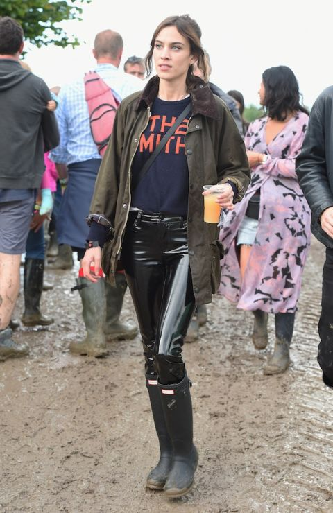 BEST CELEBRITY STYLE AT GLASTONBURY 2016