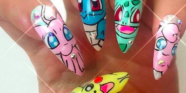 - Pokémon Go Inspires Matching Nail Art