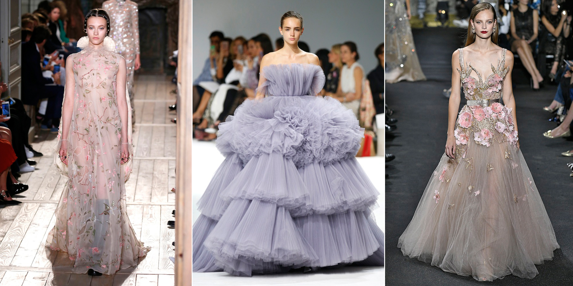 Wedding dress inspiration from haute couture fashion week aw16 for Haute couture style