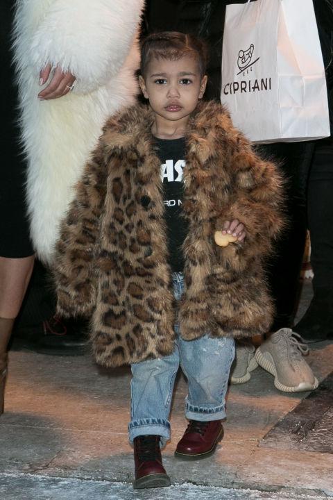 Remarkable North West Kim Kardashian Baby Pictures Fashion Celebrity Style Short Hairstyles Gunalazisus
