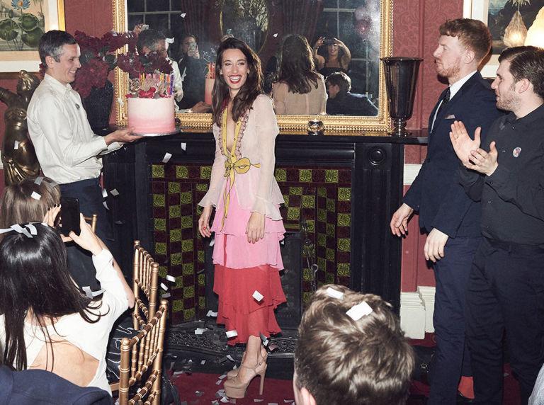 Laura Jackson's 30 birthday cake
