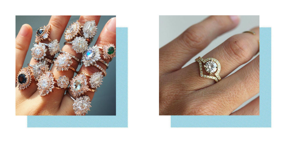 Best wedding and engagement ring designers on etsy junglespirit Gallery