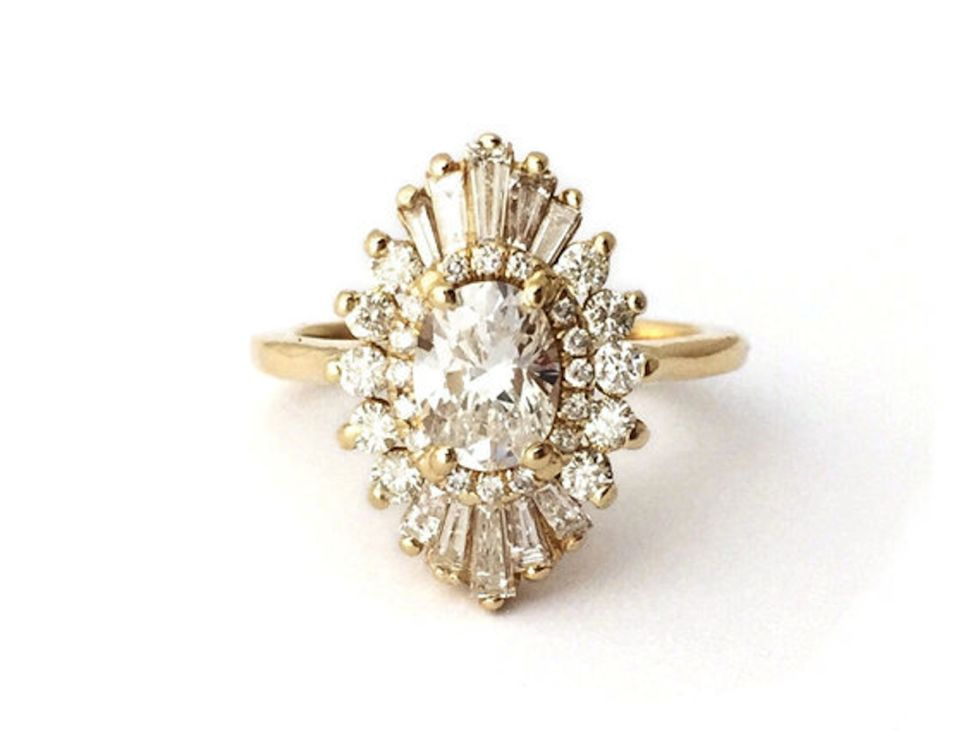 Best Wedding And Engagement Rings On Etsy