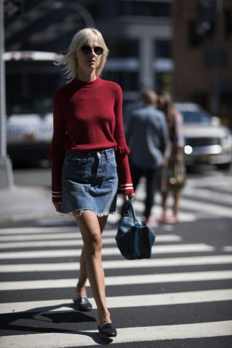 New York Fashion Week Ss17 The Best Street Style Looks