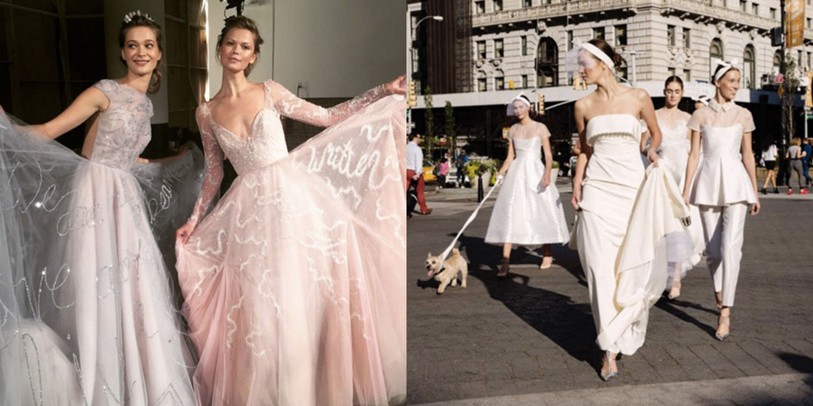 The Most Beautiful Wedding Dresses From Fall 2017 Bridal Fashion Week