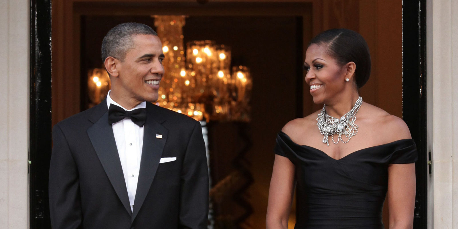 Barack And Michelle Obama Celebrate Their 26th Wedding