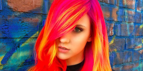 The Phoenix Glow-In-The-Dark Hair Dye Trend That's ...