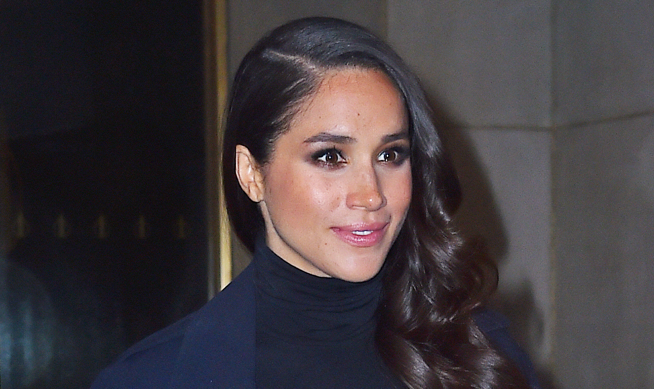 Meghan Markle Is Now Wearing A Prince Harry Ring