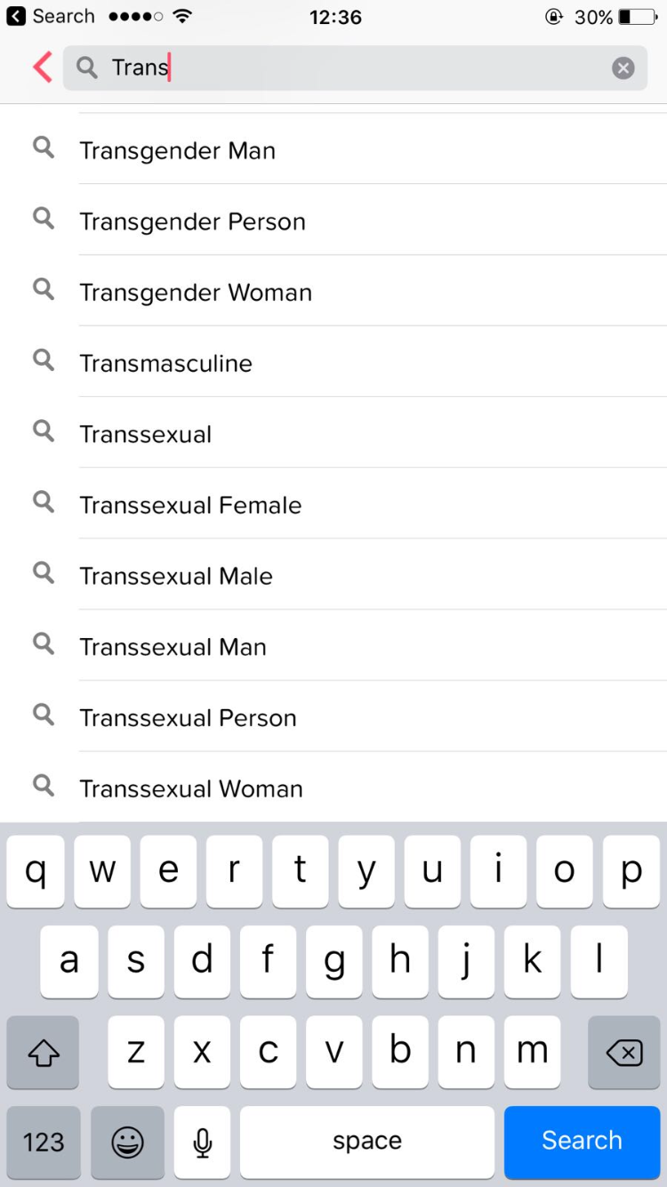 tinder s new gender identity options what do they mean trans terms on tinder elle uk