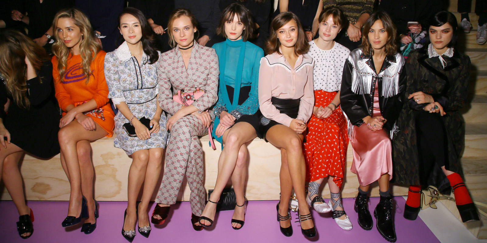 New York Fashion Week Ss18 Front Row Celebrities At Nyfw Spring 2018