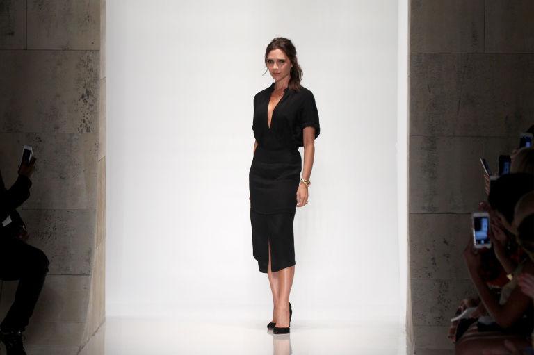 Victoria Beckham at fashion week | ELLE UK