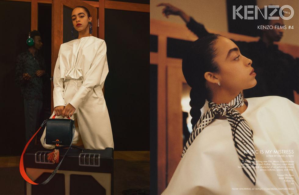 Model: Kelsey Lu Photographer:Jalan and Jibril Durimel