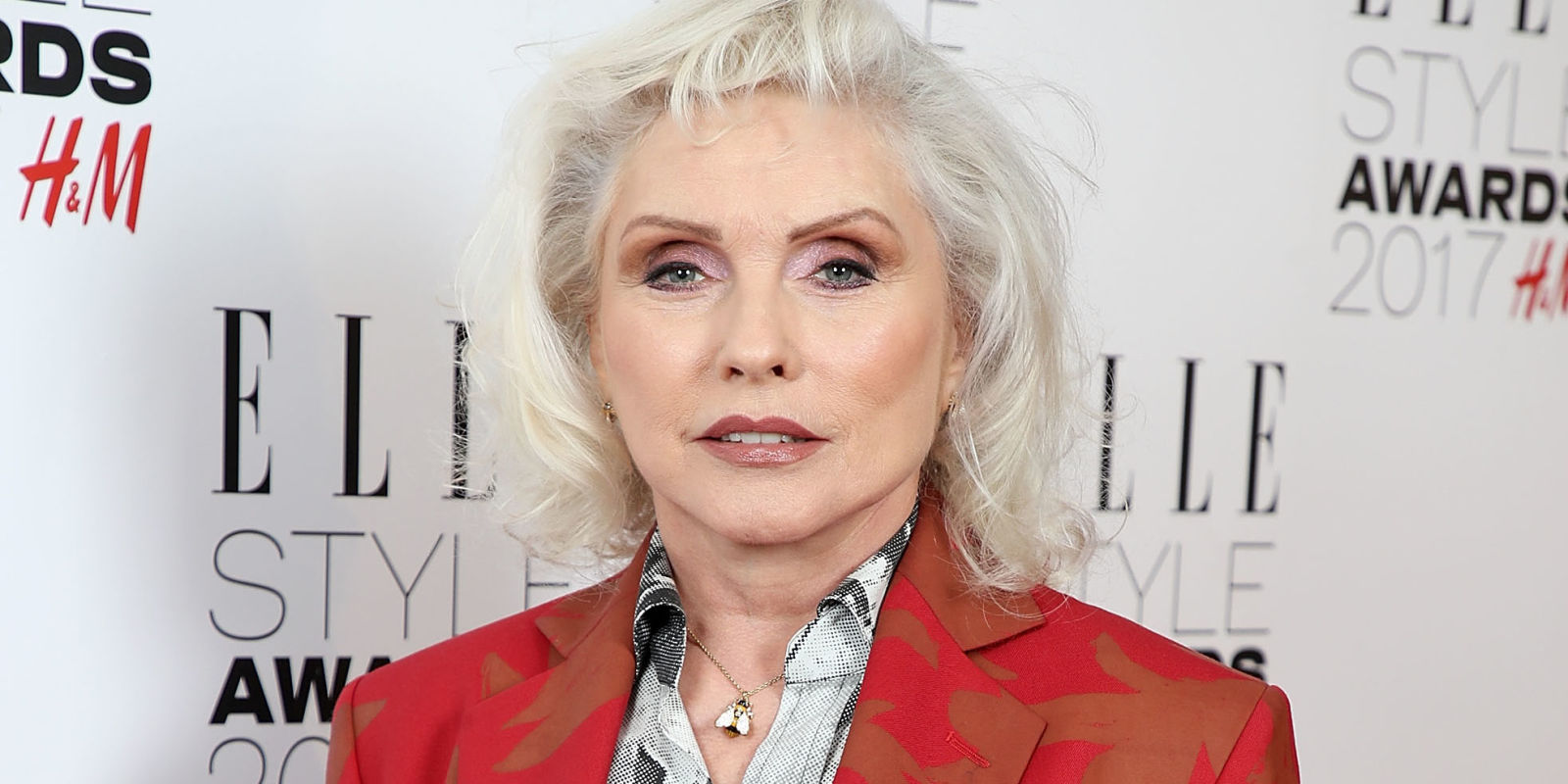 Debbie Harry Wins Style Icon Of The Year At The ELLE Style Awards 2017