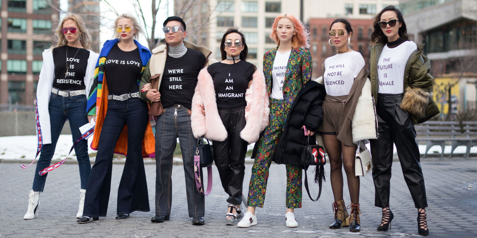 New york fashion week aw17 trend watch political power dressing Fashion style group mauritius