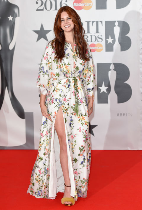 Lana Del Rey S Best Red Carpet Looks Style File