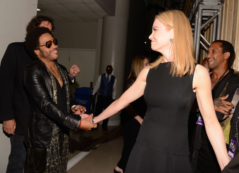Lenny Kravitz and Nicole Kidman | ELLE UK