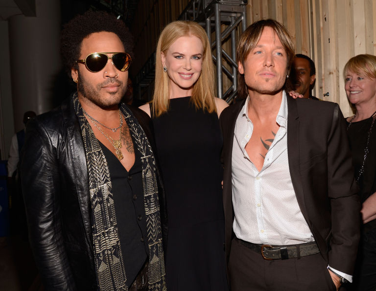 Lenny Kravitz, Keith Urban and Nicole Kidman | ELLE UK