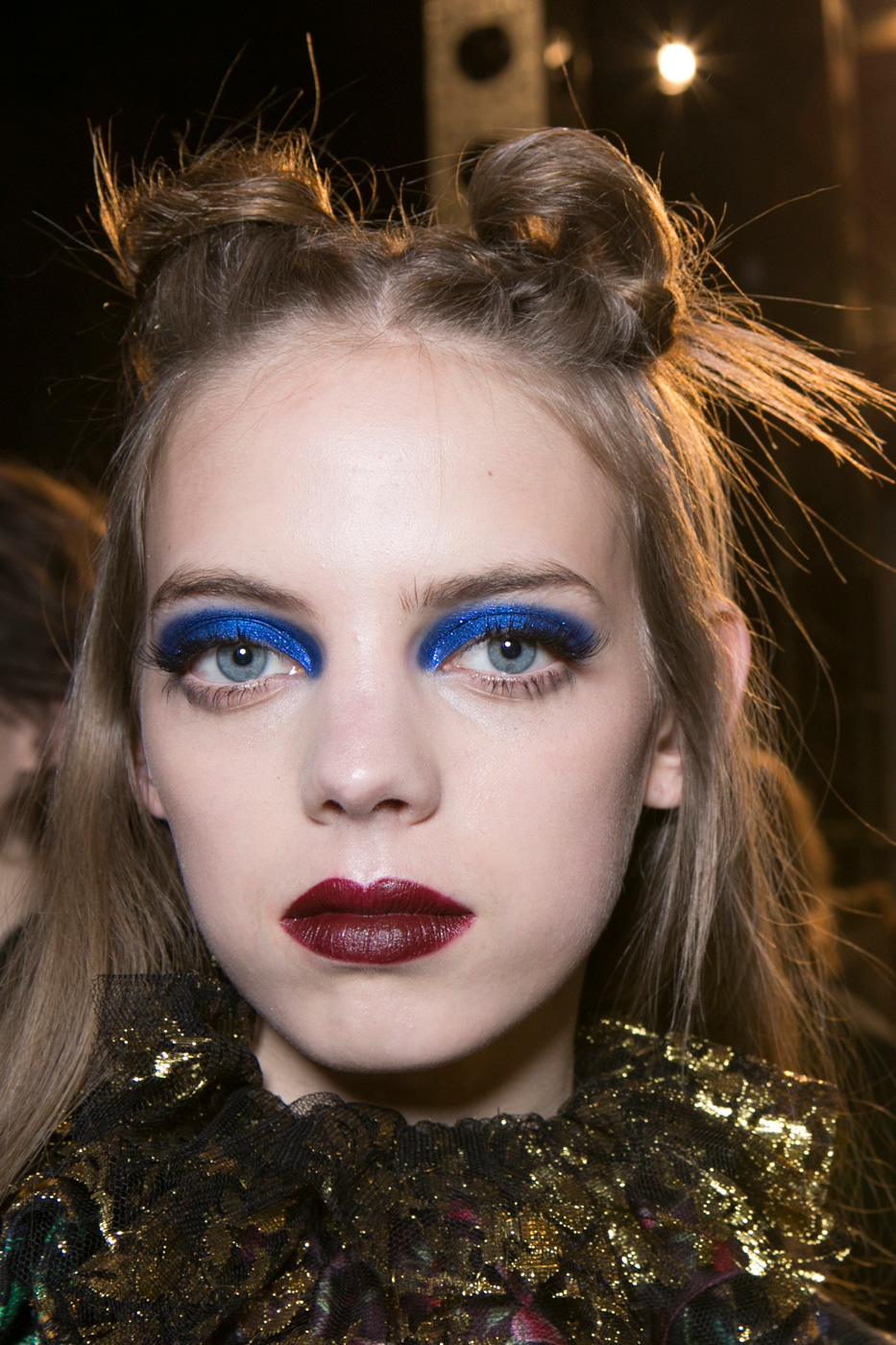 New Makeup Brushes: Best Beauty Looks: New York Fashion Week A/W 2017