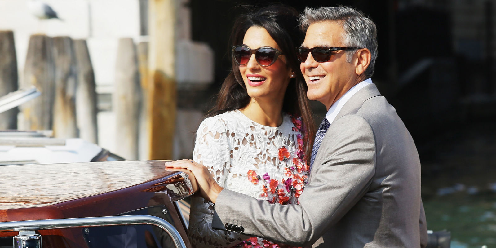 george clooney started dating amal