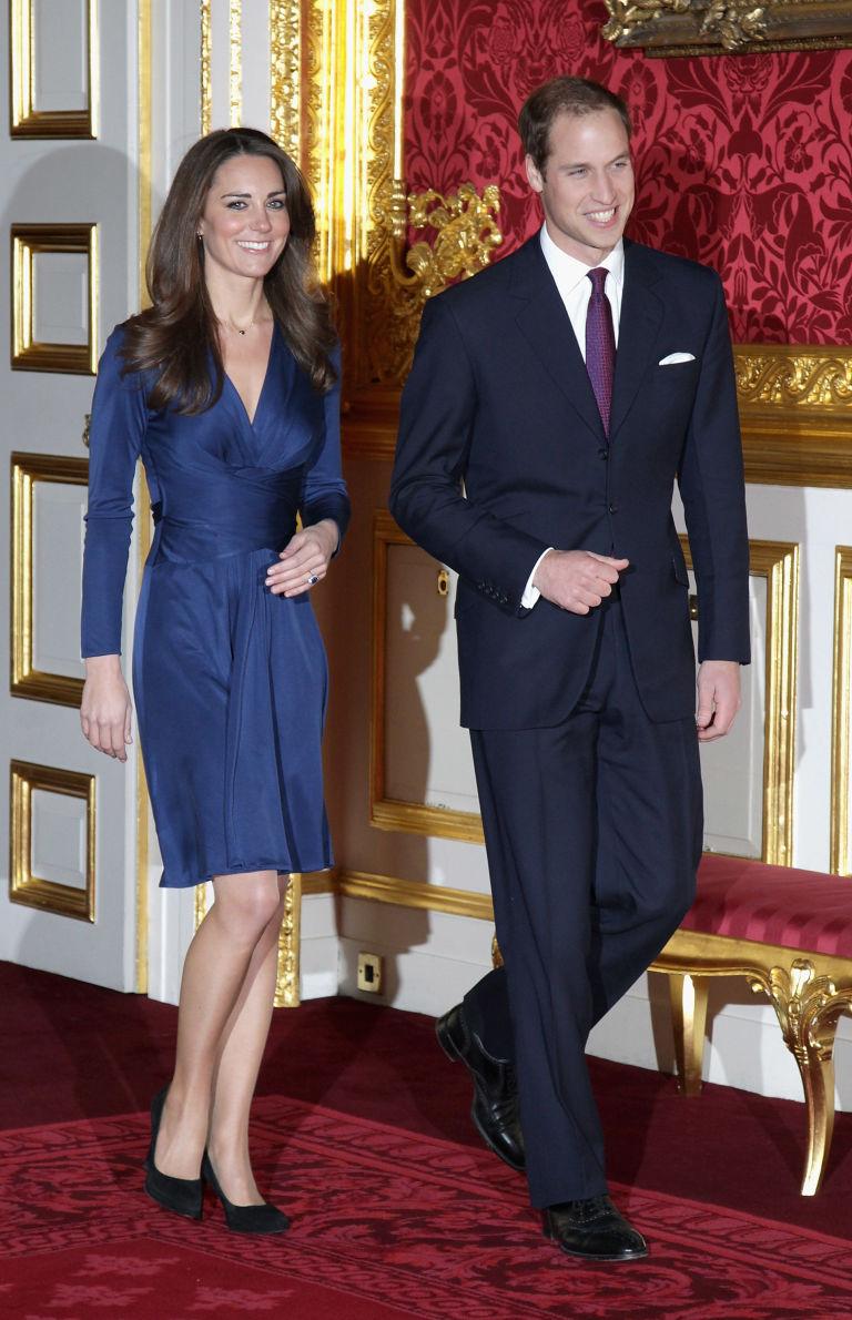 Kate Middleton Wrap Dress