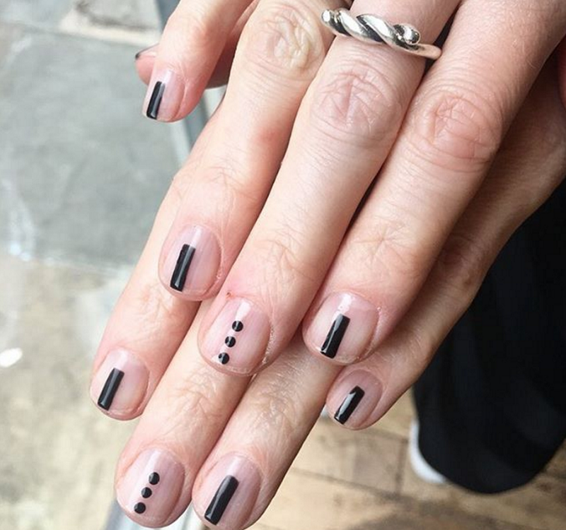 16 Stunning Minimalist Nail Art Ideas To Try