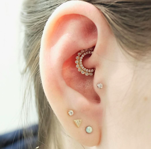 Daith Piercing: 12 Instagram Pictures To Give You Ear ...